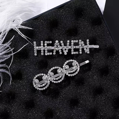 Heaven Smile Crystal Hairpins