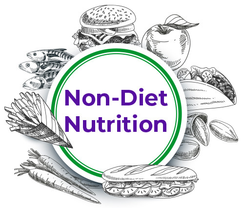 Non-diet nutrition helping people to break free from diet culture with intuitive eating