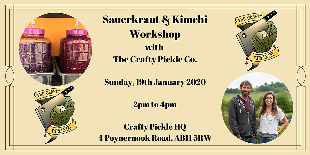 Sauerkraut and kimchi workshop masterclass, making live fermented vegetable products