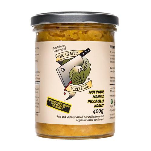 Not Your Nana's Piccalilli Kraut