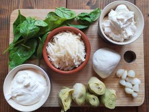 RECIPE: Fermented Garlic & Artichoke Dip