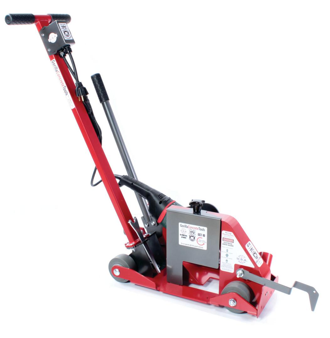 GCT-10 dustless concrete saw