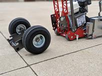 GCT-8 Series III with optional All Terrain Wheel Kit