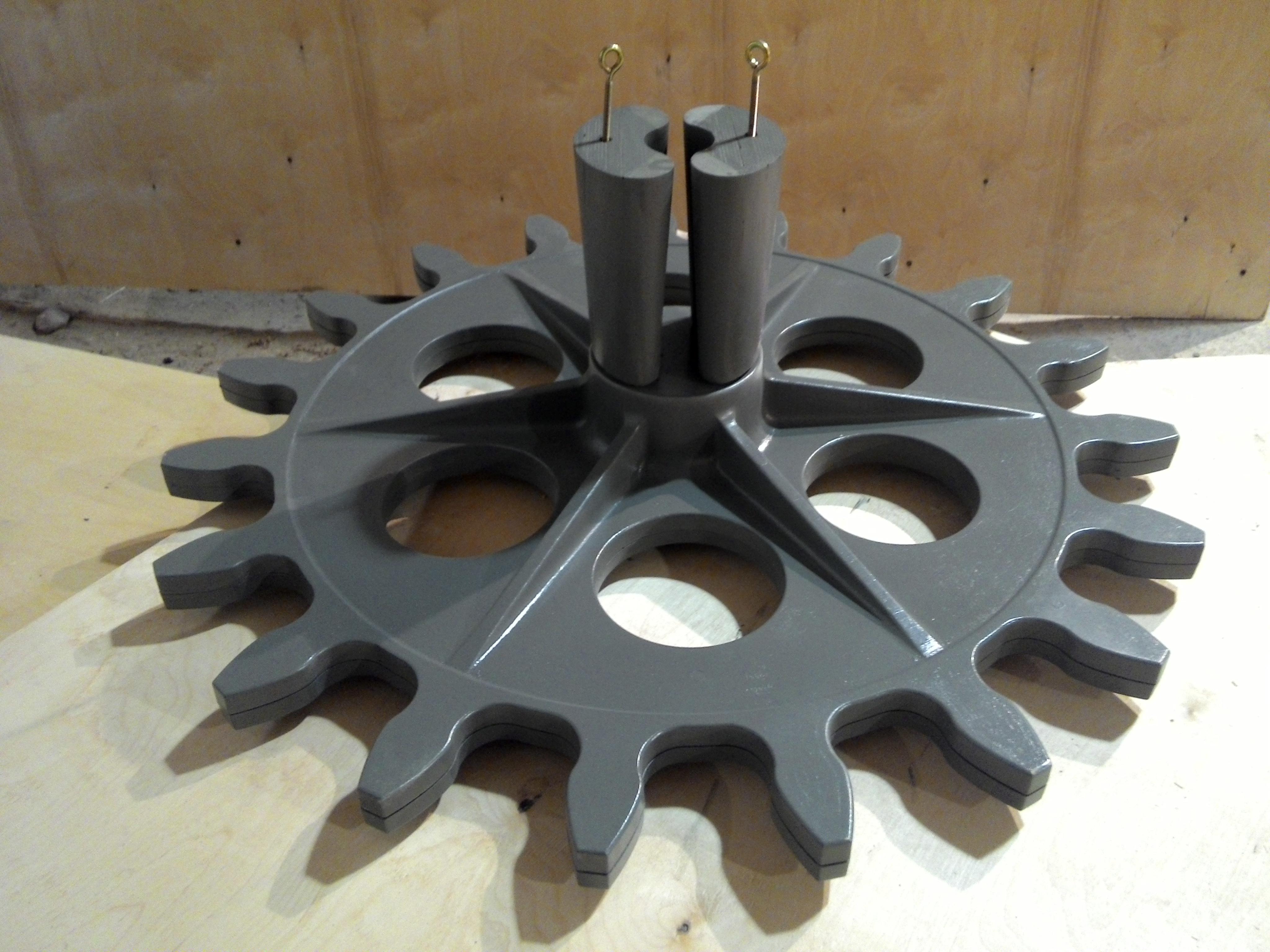 Модель под стальное литье