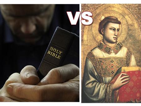 """Cosa vuol dire """"santo""""? Dipende in quale nazione o regno tu pronunci questa parola!"""