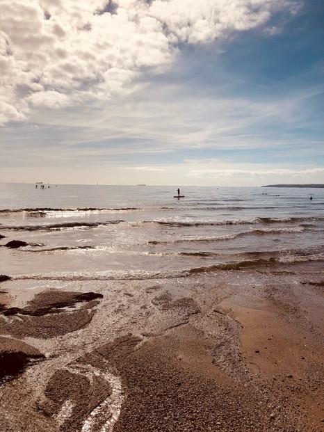 Low Tide, Gyllyngvase Beach Falmouth