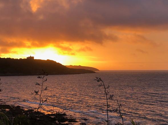 Sunrise over Pendennis Castle