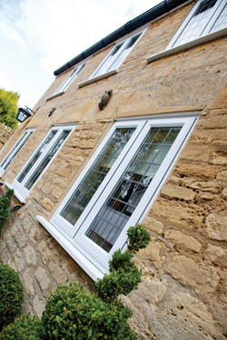 UPVC Leaded Window
