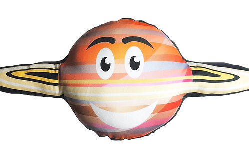 Planet pillow- Space theme kids decor- Saturn