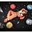 Thumbnail: Planet pillow- Space theme kids decor- Saturn