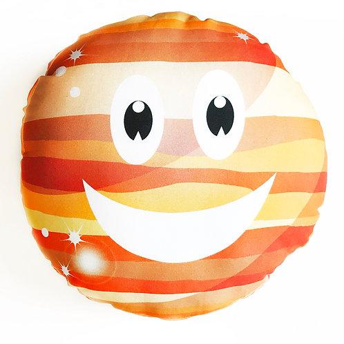 Jupiter Planet throw pillow