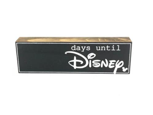 Days until Disney countdown