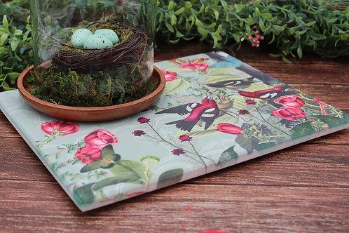 Birds Serving Platter