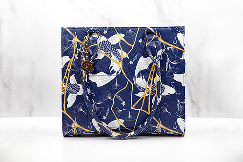 Kintsugi Hand Bag- Blue