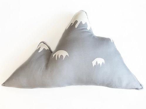 Grey Mountain throw pillow