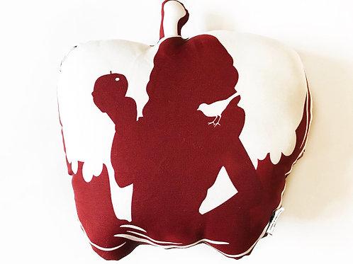 Snow White Apple pillow- Poison Apple