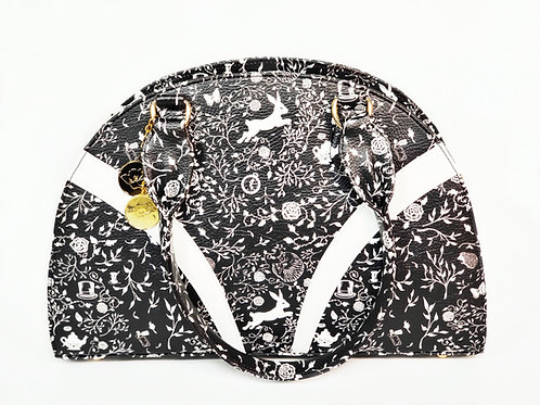 Black Wonderland Hand Bag