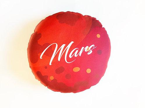 Planet pillow- Space theme kids decor- Mars