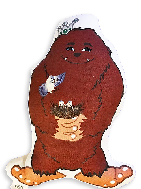 Big Foot Plushie- Be Brave Be Bold Be You