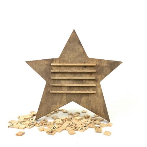 Star Scrabble Board