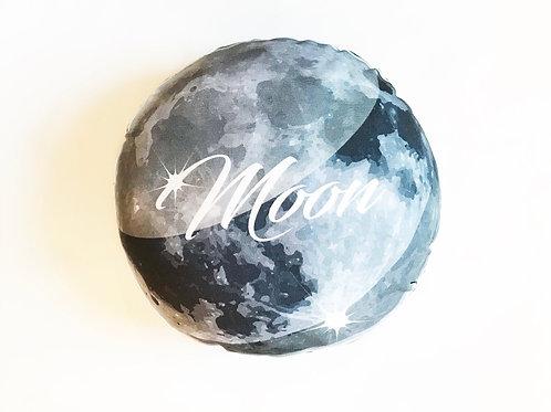 Planet pillow- Space theme kids decor- Moon