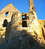 Direlton Castle, East Lothian, Scotland, UK