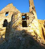 Direlton Castle, East Lothian, Scotland, UK