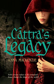 Cover image for Anna Mackenzie's Cattra's Legacy