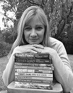 Anna Mackenzie, all novels, stack of Books
