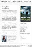 Teaching Notes, Ebony Hill by Anna Mackenzie