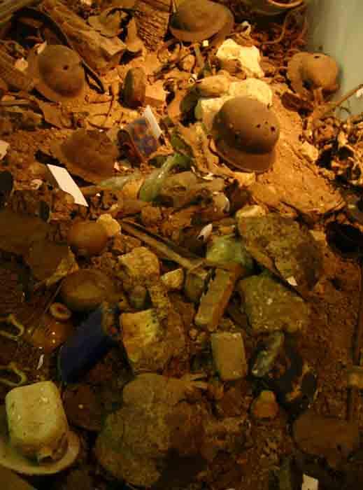 WWI debris