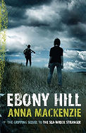 Anna Mackenzie, Ebony Hill, YA dystopian fiction