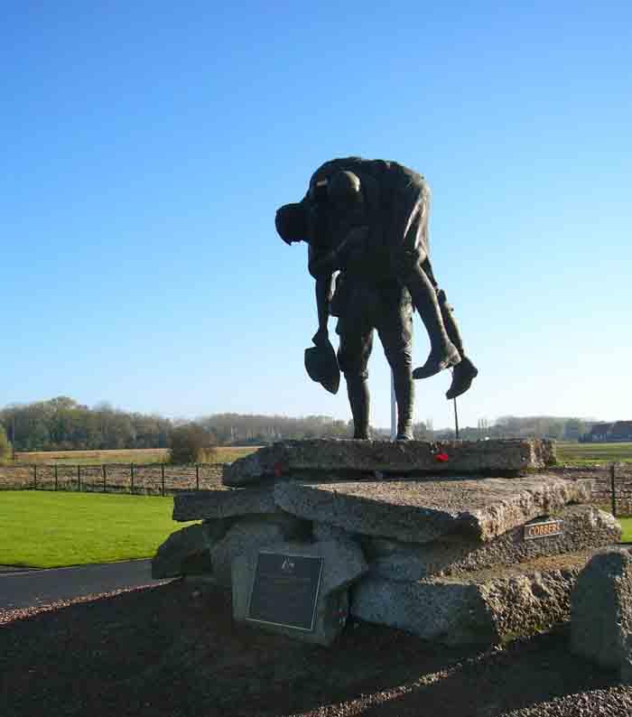 Cobbers memorial, Fromelles
