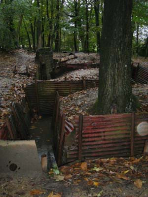 Hill 63 trench system