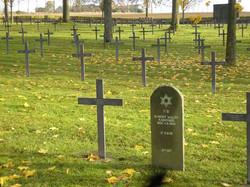 Jewish grave, German cemetery Albert