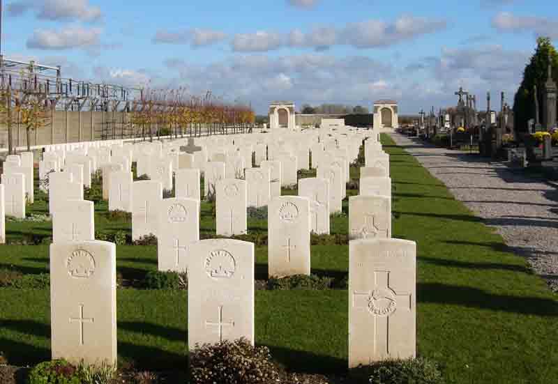 Estaires CCS cemetery extension