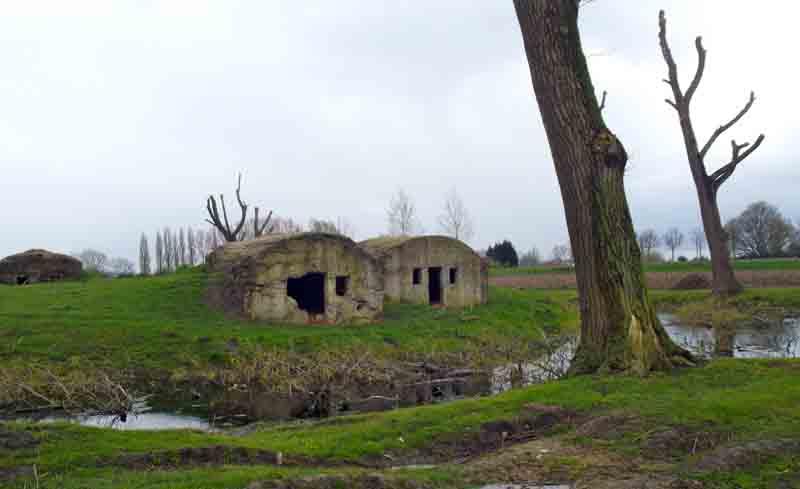 Bunkers, Belgium