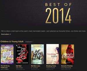 iBooks - Donnel's Promise Best of 2014