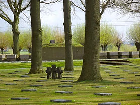 WWI cemetery Ypres / Ieper