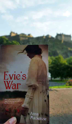 Evie in Edinburgh