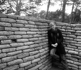 Anna Mackenzie, Vimy Ridge trenches, WWI