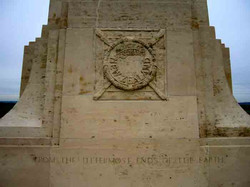 NZ Memorial, Flers, Somme