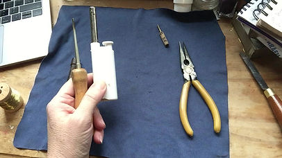 Heating the mandrel and pre-forming the cane