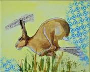 Golden Hare Blue