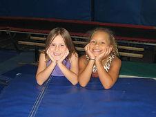 Happy kids in camp at Le Club Gymnastics