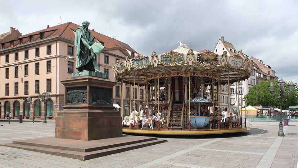 스트라스부르 쿠텐베르그 광장