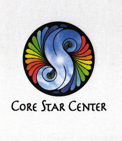 Core Star Center Digital Print