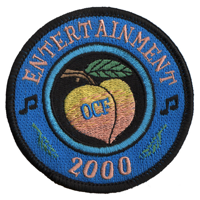 Oregon County Fair Patch Embroidery