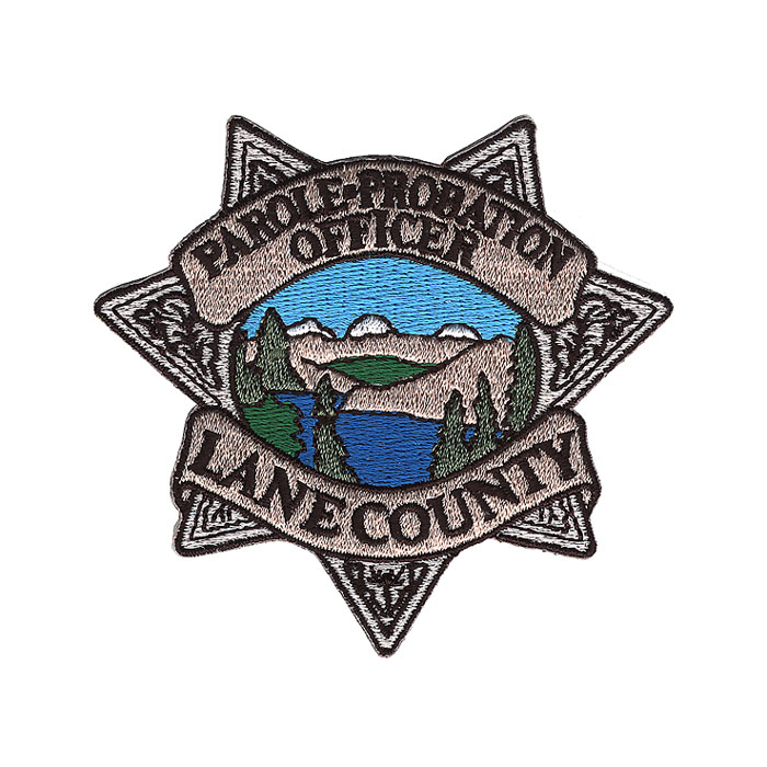 Lane County Patch Embroidery