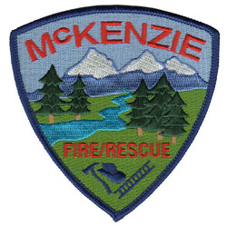 McKenzie Fire and Rescue Patch Embro